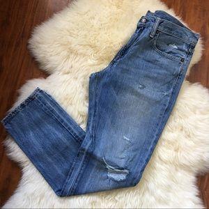 NWOT Men's Levi's 511 Distressed Slim Fit Jeans